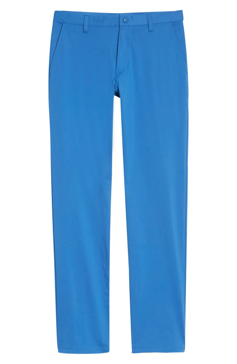 RHONE Commuter Straight Fit Pants, Main, color, GALAXY BLUE