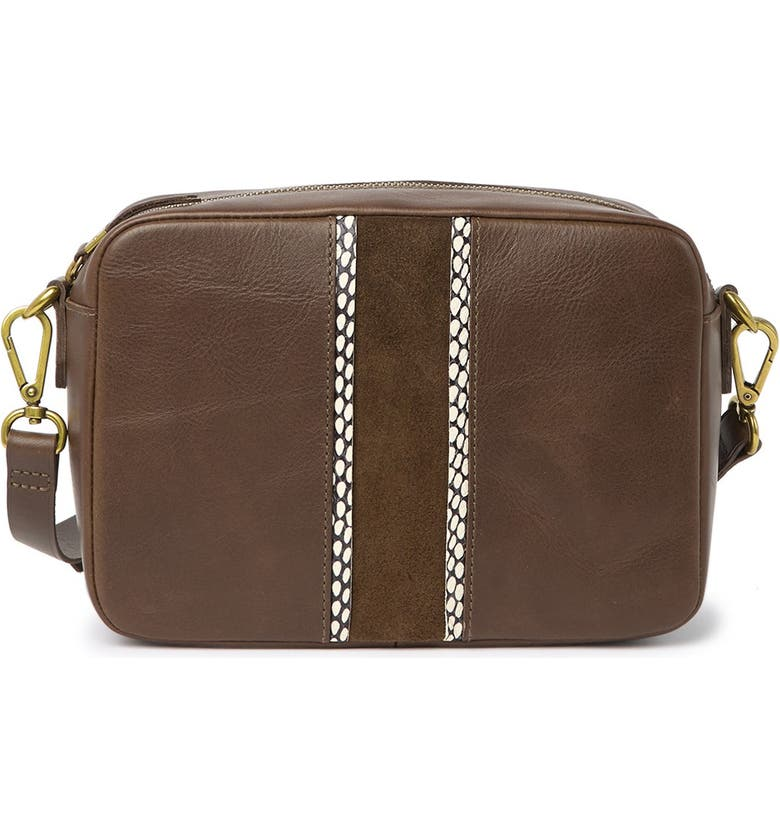 MADEWELL The Suede Inset Edition Large Transport Camera Bag, Main, color, 300