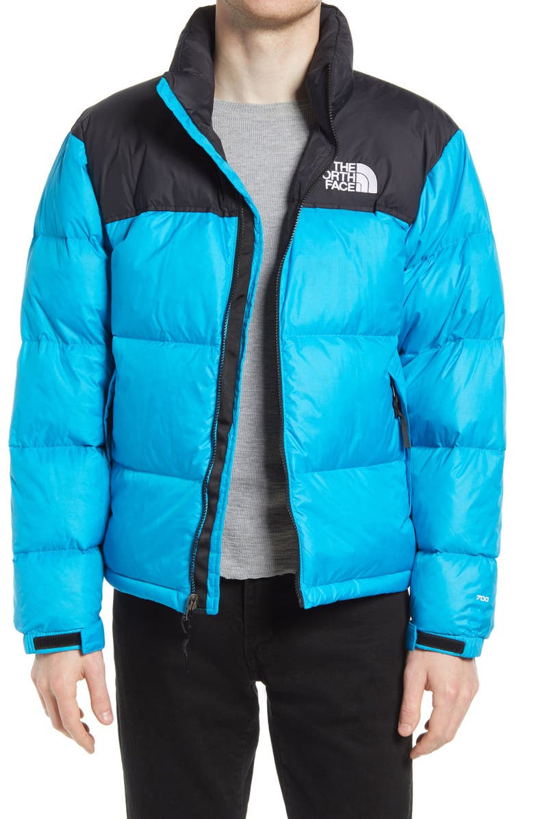 THE NORTH FACE Men's Nuptse<sup>®</sup> 1996 Packable Quilted Down Jacket, Main, color, MERIDIAN BLUE