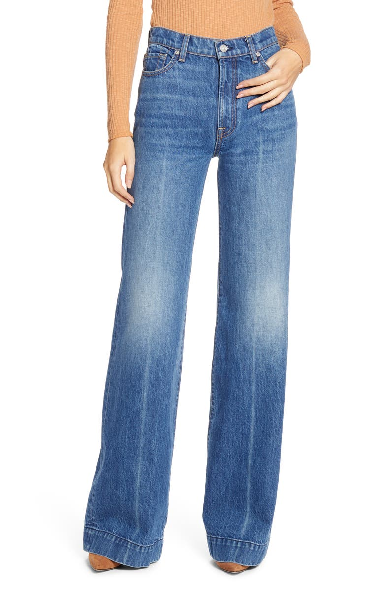 7 FOR ALL MANKIND<SUP>®</SUP> Modern Dojo High Waist Flare Jeans, Main, color, 400