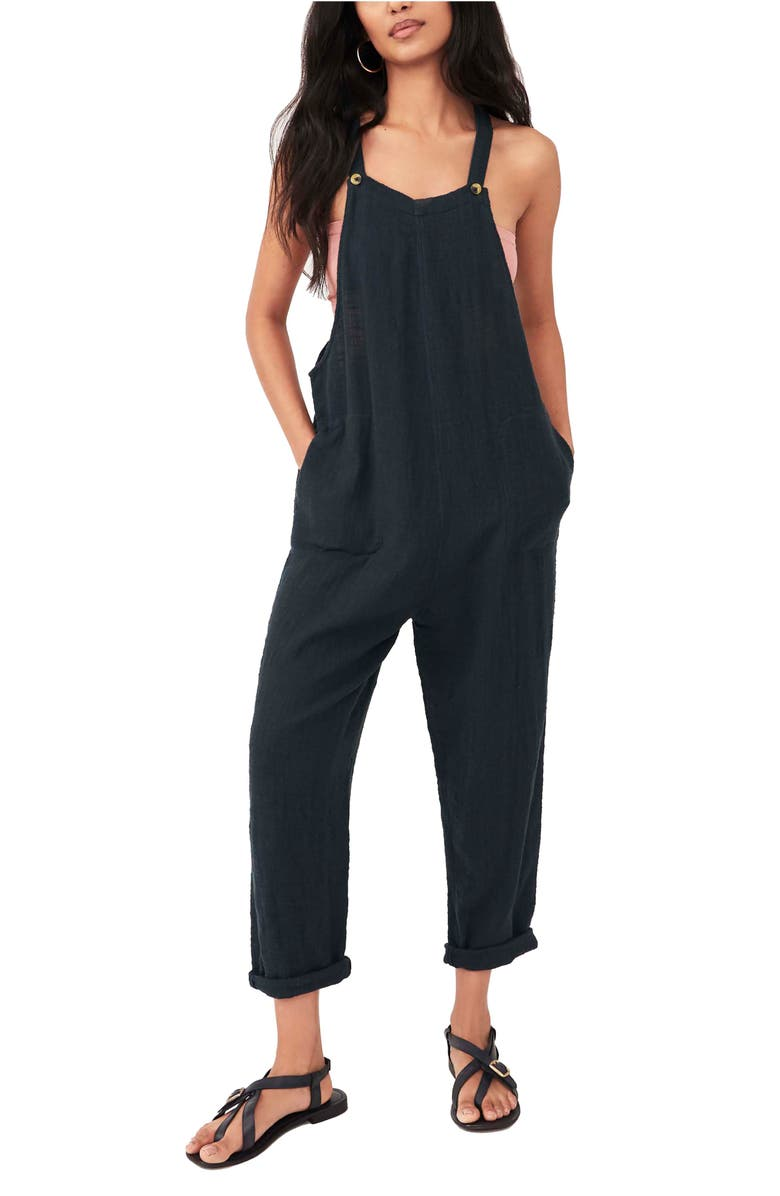 FREE PEOPLE Sezanne Sleeveless Jumpsuit, Main, color, HIGH TIDE