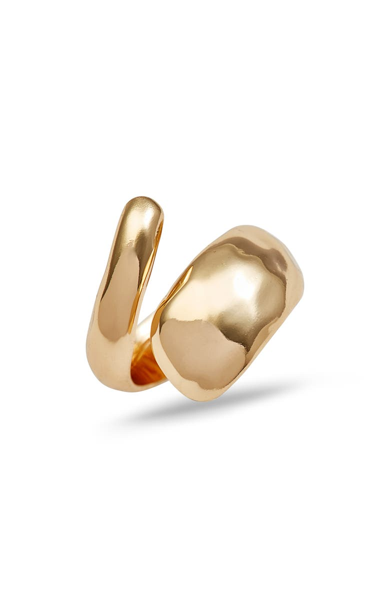 NORDSTROM Bubble Wrap Ring, Main, color, GOLD