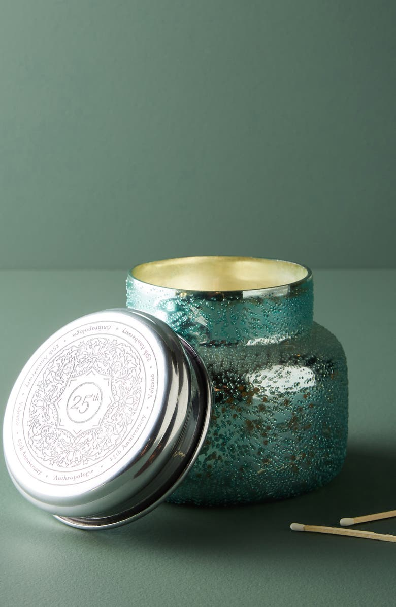 ANTHROPOLOGIE HOME Anthropologie Capri Blue Dew Volcano Candle, Main, color, 400
