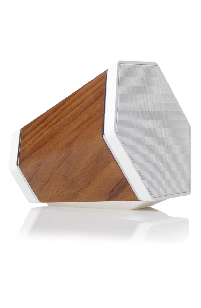 RECOVER Outlier Bluetooth<sup>®</sup> Speaker, Main, color, WALNUT WOOD BROWN