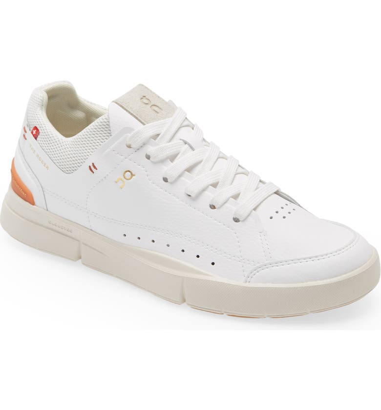 ON THE ROGER Centre Court Tennis Sneaker, Main, color, WHITE SIENNA