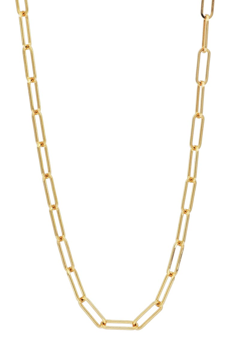 BONY LEVY Ofira 14K Gold Chain Link Necklace, Main, color, GOLD