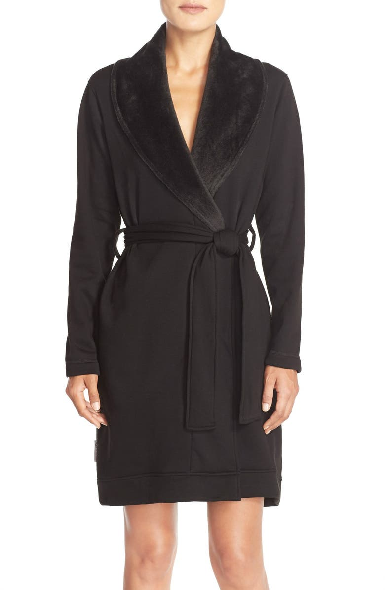 UGG<SUP>®</SUP> 'Blanche' Robe, Main, color, 001