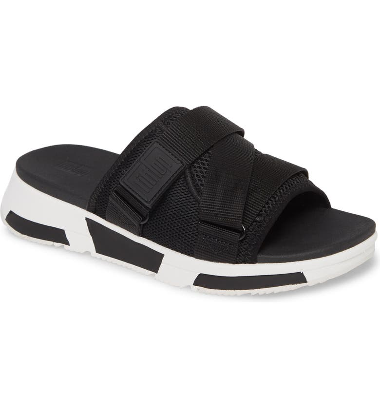 FITFLOP Alyssa Slide Sandal, Main, color, 001