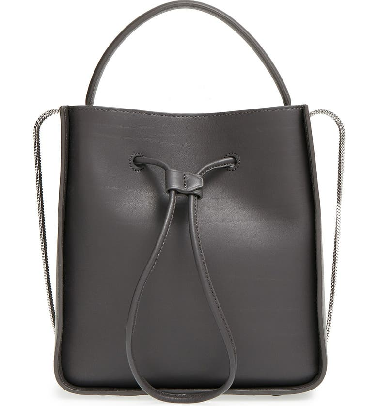 3.1 PHILLIP LIM 'Soleil Small' Leather Bucket Bag, Main, color, 200