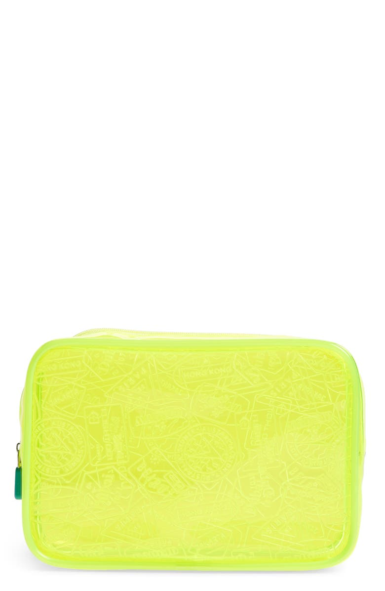 FLIGHT 001 X-Ray Neon Quart Bag, Main, color, 700