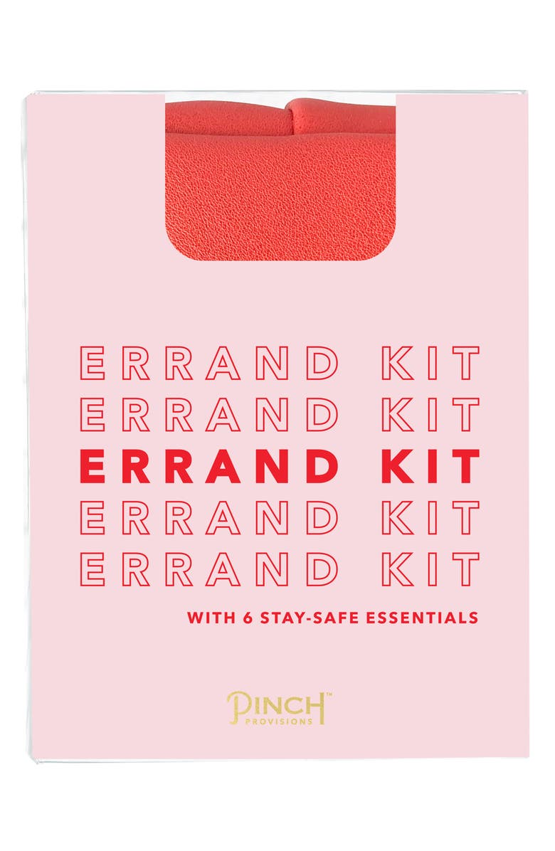 PINCH PROVISIONS Errand Kit, Main, color, RED