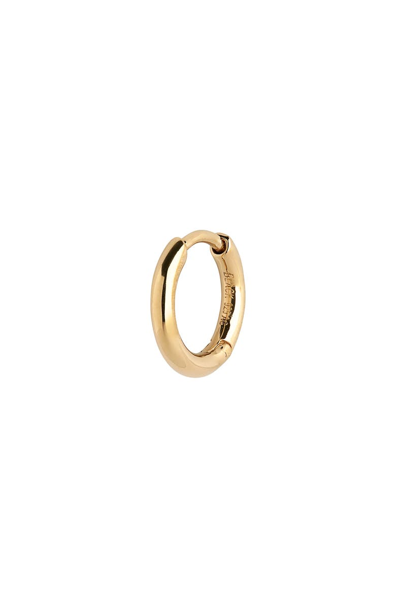 MARIA BLACK Marco Huggie Earring, Main, color, YELLOW GOLD