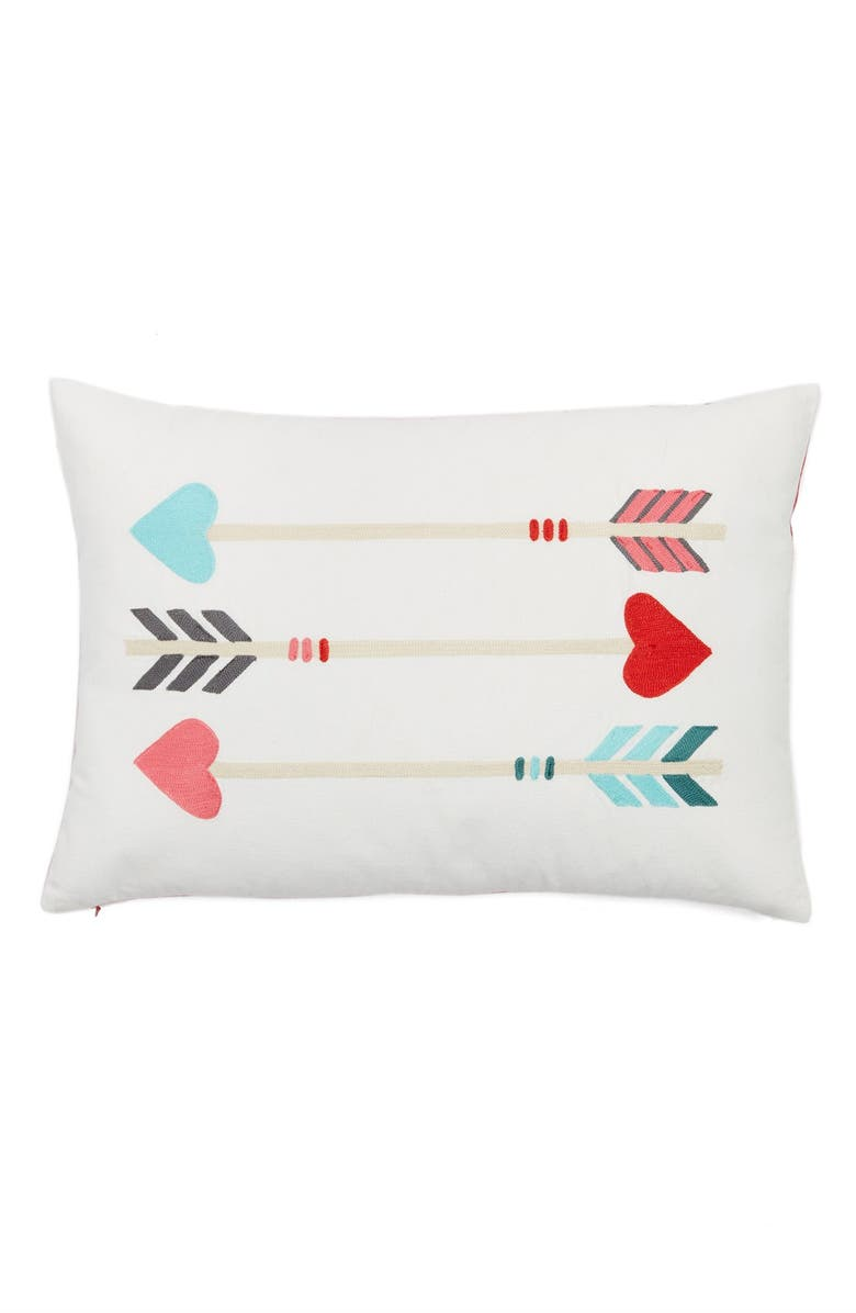NORDSTROM at Home 'Arrows' Pillow, Main, color, 900