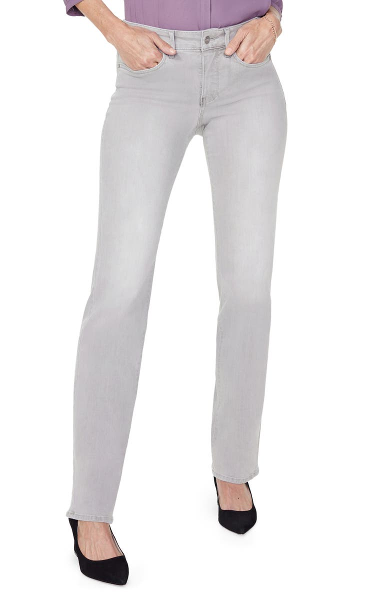 NYDJ Marilyn Straight Leg Jeans, Main, color, GALE