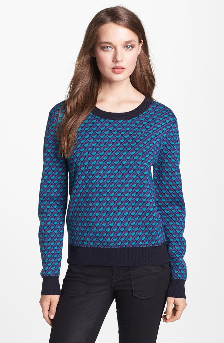 MARC BY MARC JACOBS 'Luna' Merino Wool Sweater, Main, color, 342