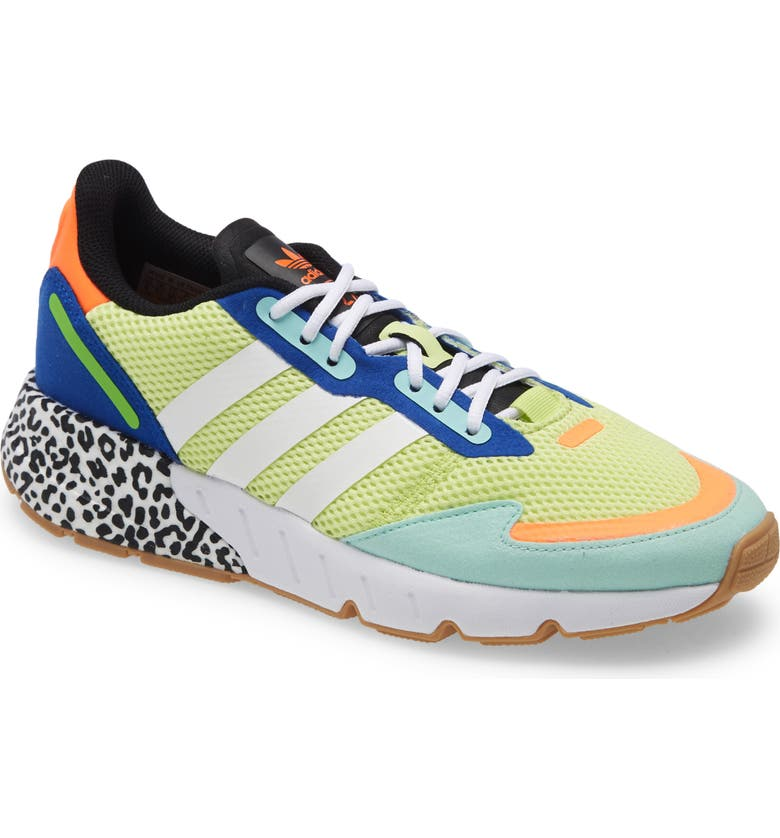 ADIDAS ZX 1K Boost Sneaker, Main, color, YELLOW/ WHITE/ MINT
