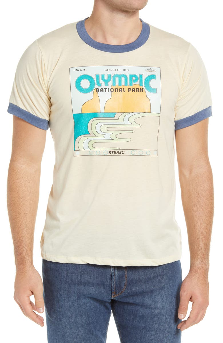 PARKS PROJECT Olympic's Greatest Hits Graphic Tee, Main, color, 100