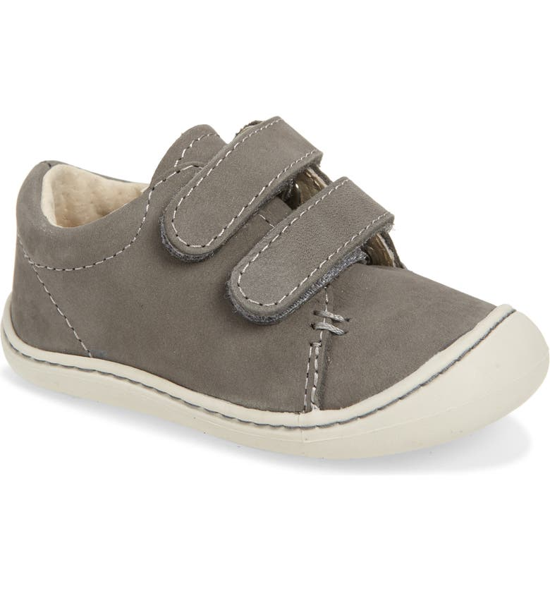 FOOTMATES Henry Sneaker, Main, color, GREY SOFT-TOUCH