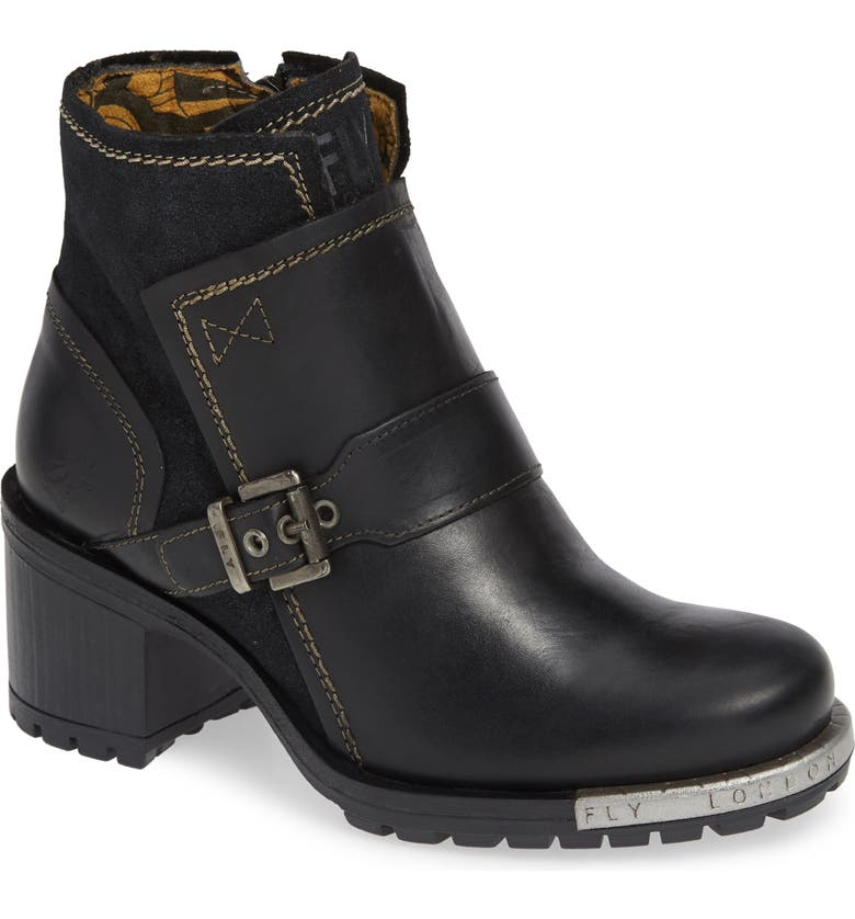 FLY LONDON Labe Bootie, Main, color, 001