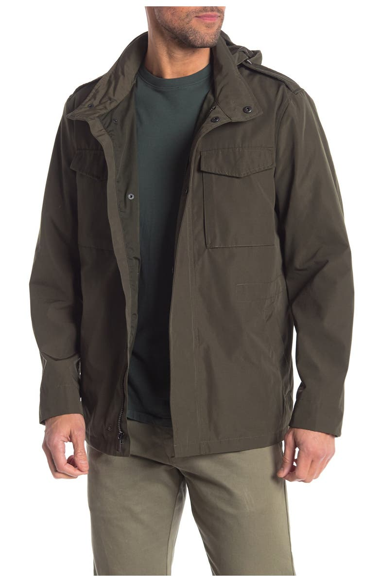 COLE HAAN Field Parka, Main, color, OLIVE