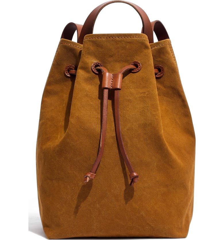 MADEWELL Somerset Canvas Backpack, Main, color, 200