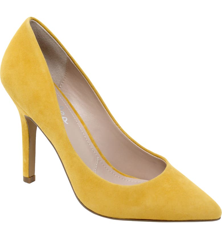 CHARLES BY CHARLES DAVID Maxx Pointed Toe Pump, Main, color, MUSTARD