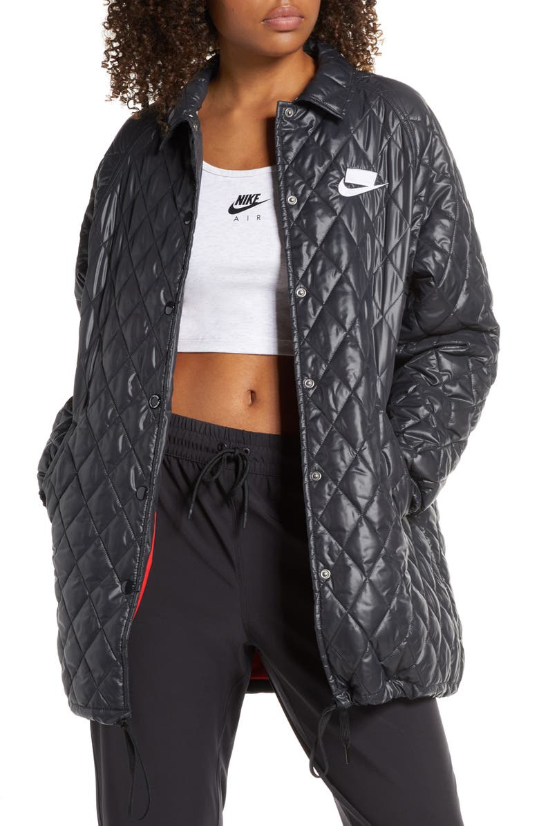 NIKE Sportswear NSW Quilted Jacket, Main, color, 010
