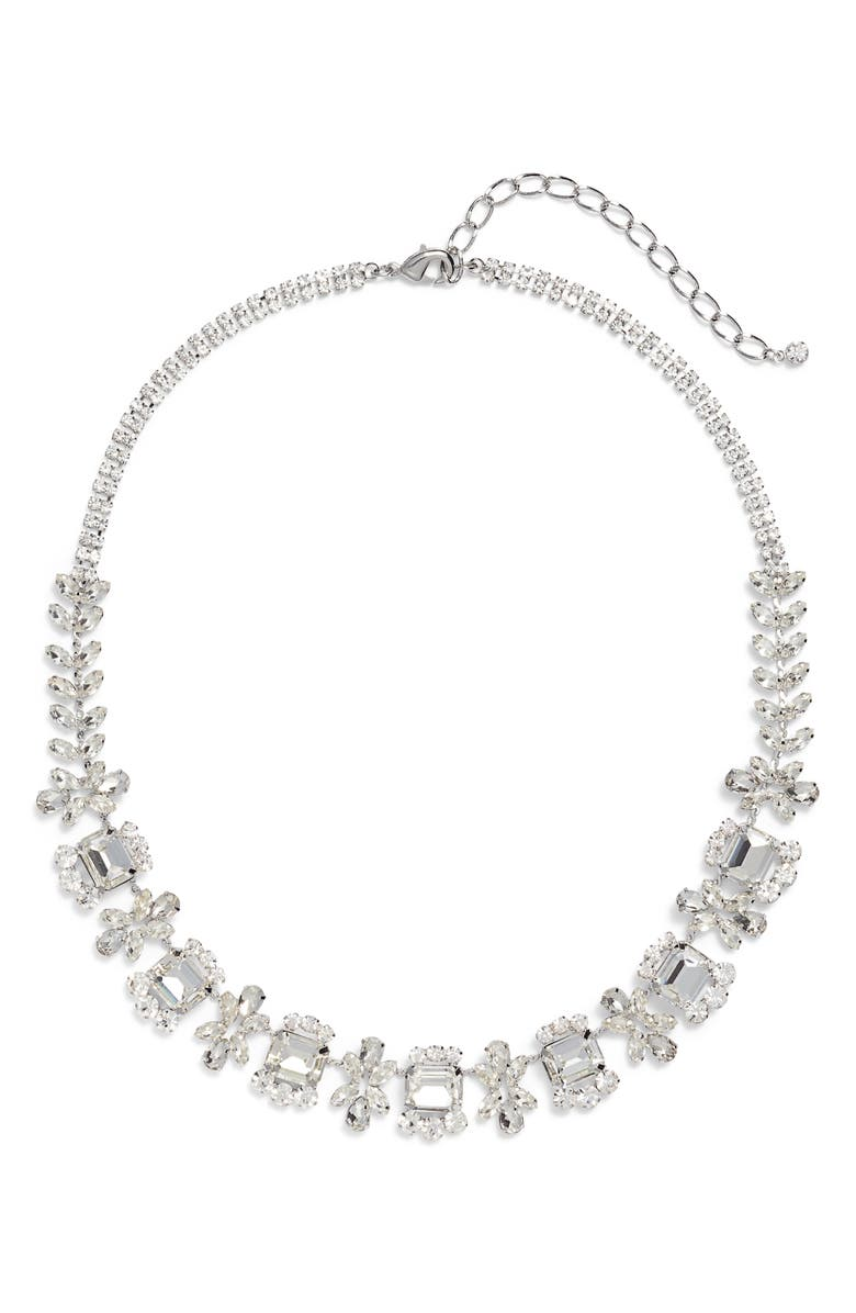 CRISTABELLE Crystal Frontal Necklace, Main, color, 040