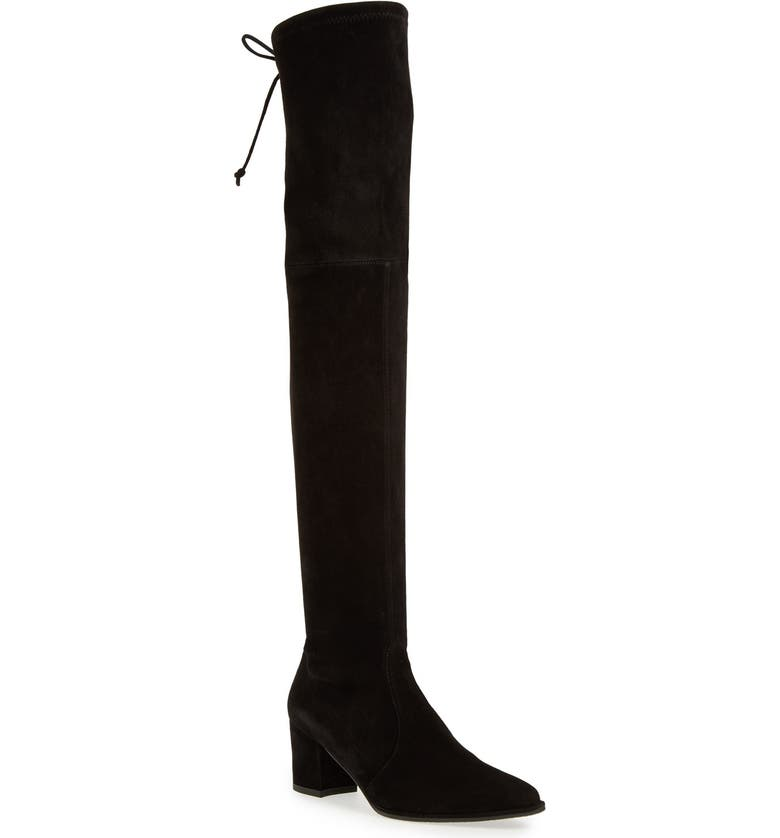 STUART WEITZMAN Thighland Over the Knee Boot, Main, color, 001
