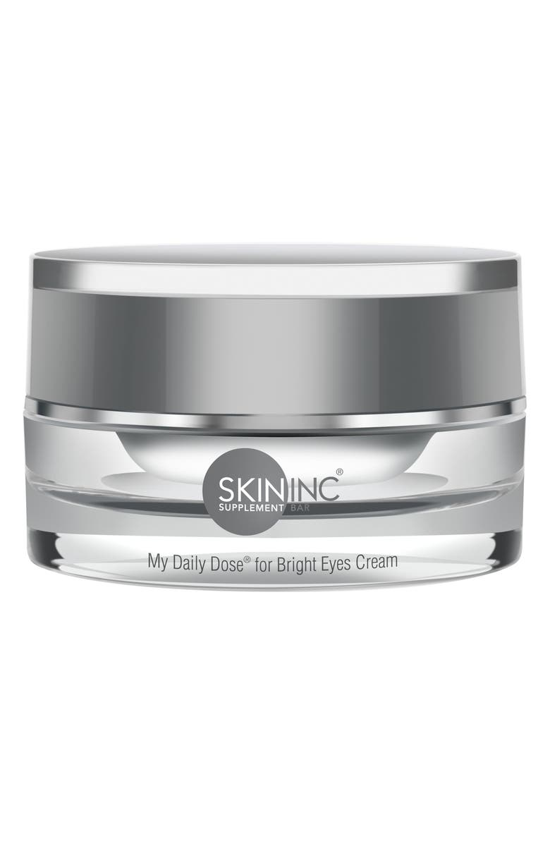 SKIN INC. My Daily Dose for Bright Eyes Cream, Main, color, 000