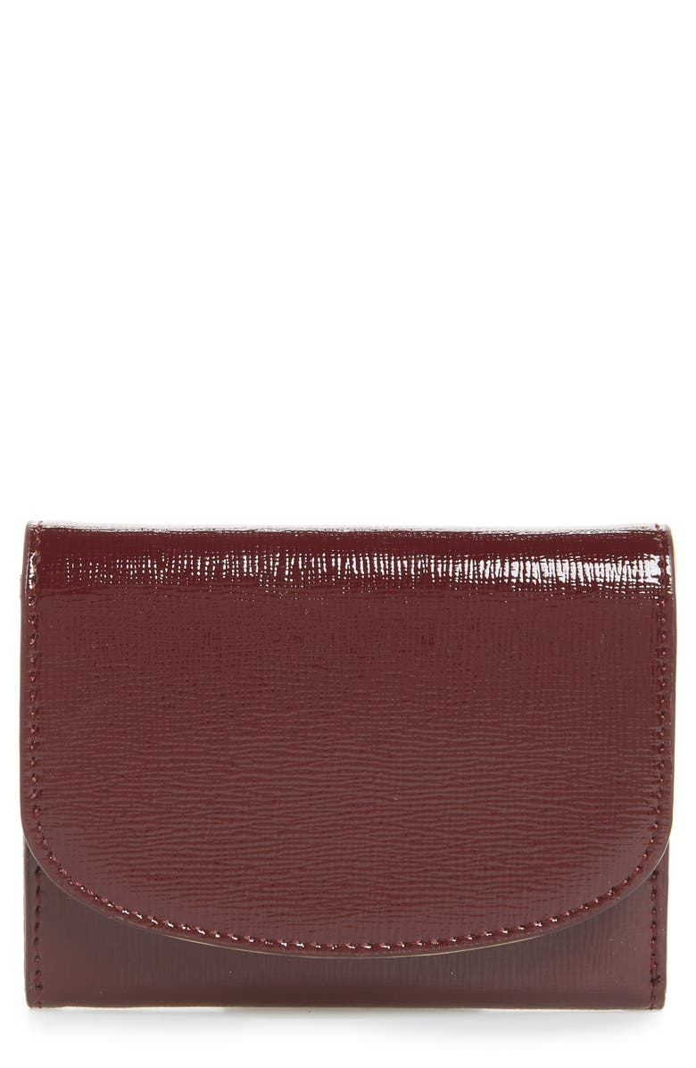 NORDSTROM Leather Card Case, Main, color, 930