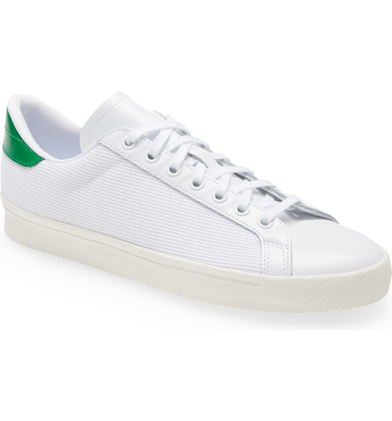 ADIDAS Rod Laver Vintage Sneaker, Main, color, WHITE/WHITE/GREEN