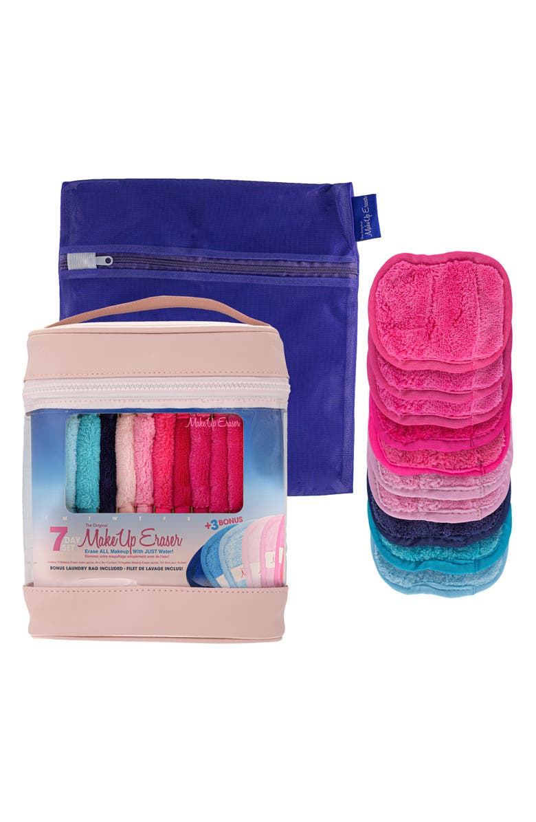 MAKEUP ERASER 10-Day Cloth Set, Main, color, 000