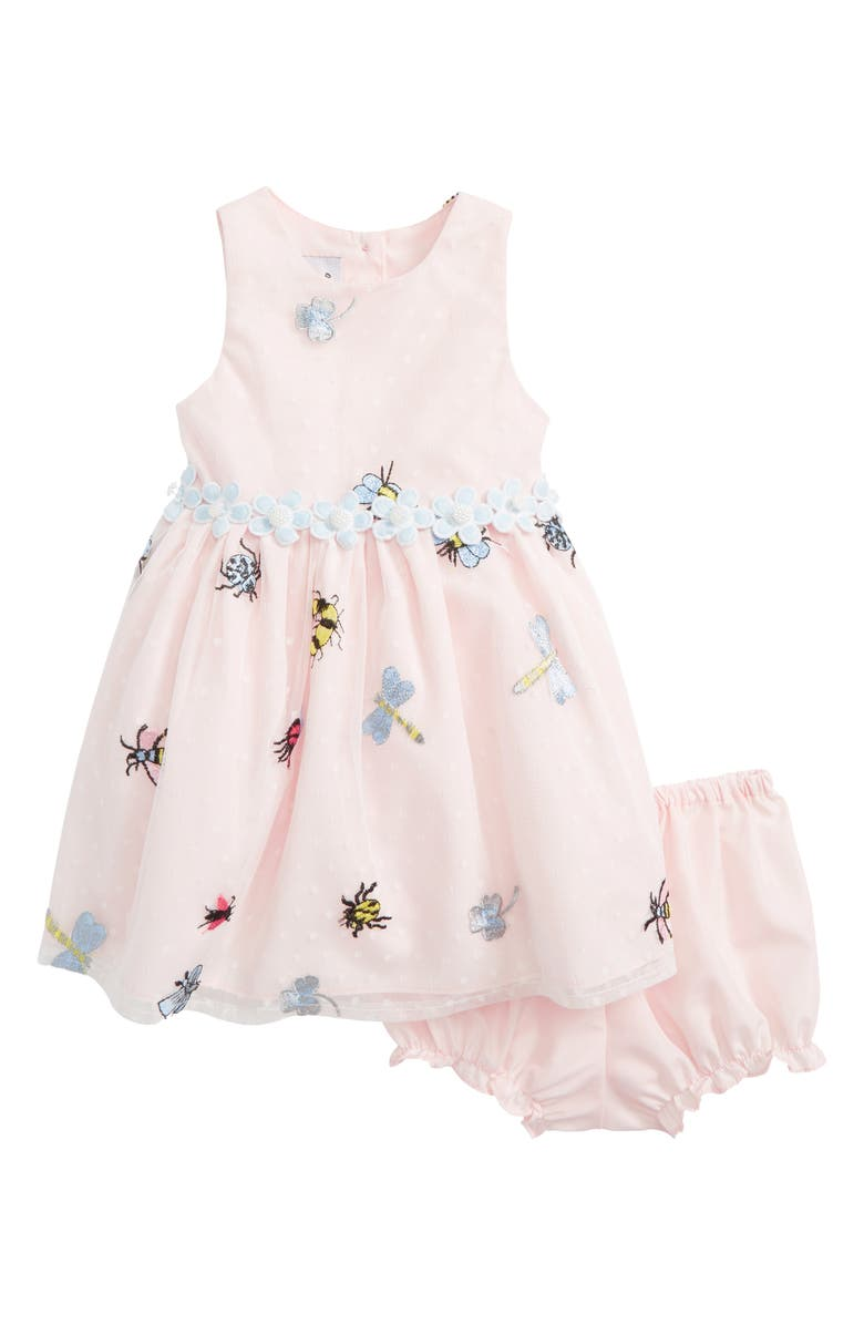 PIPPA & JULIE Mesh Bug Dress, Main, color, 650