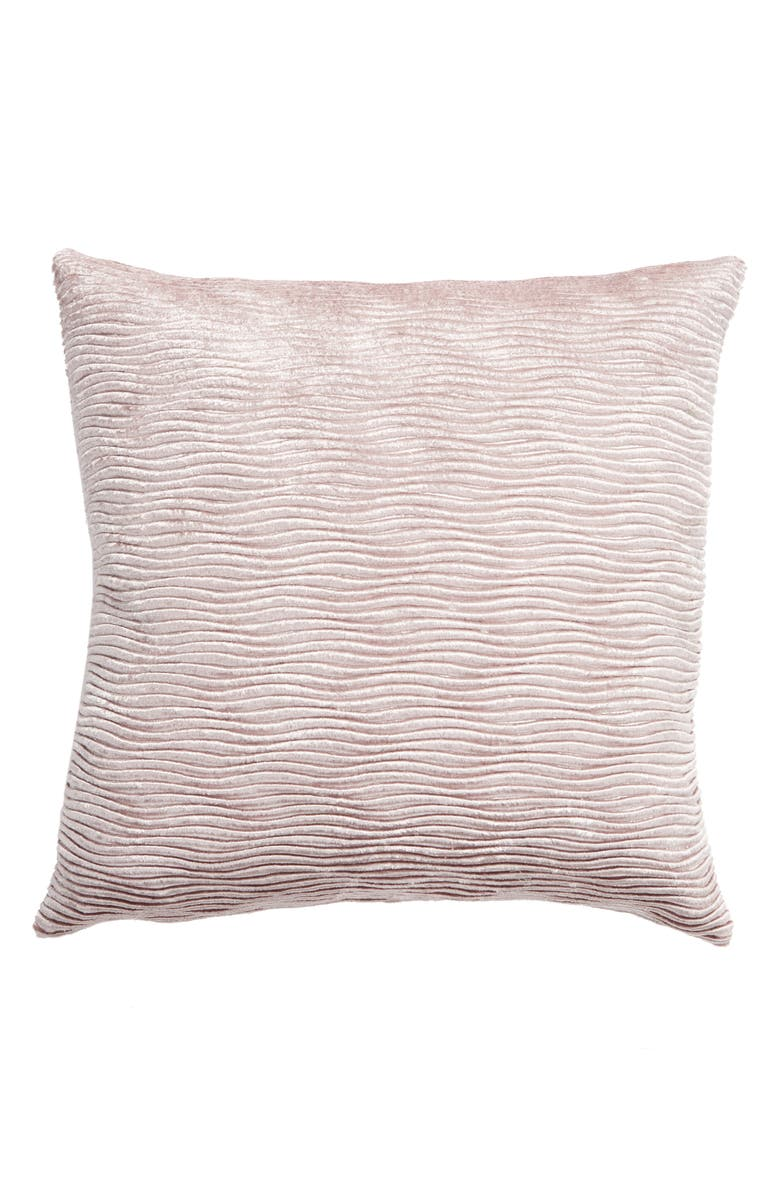 LEVTEX Farmhouse Floral Ribbed Accent Pillow, Main, color, 500