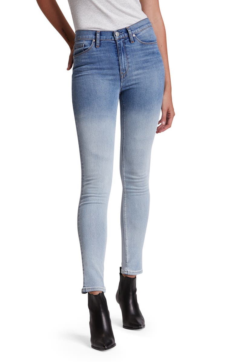 HUDSON JEANS Barbara High Waist Super Skinny Jeans, Main, color, 410