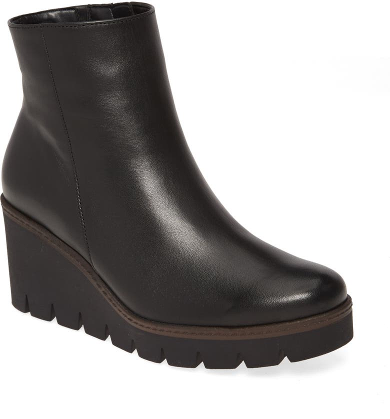 GABOR Wedge Boot, Main, color, 001