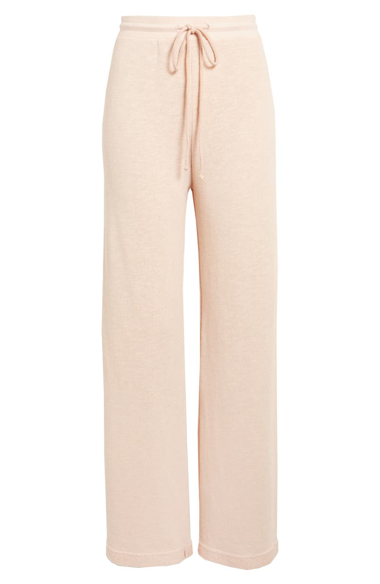 GROCERIES APPAREL Reservoir Organic Cotton Blend Lounge Pants, Main, color, Pink