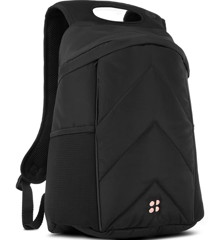 SWEATY BETTY Icon Quilted Backpack, Main, color, 001