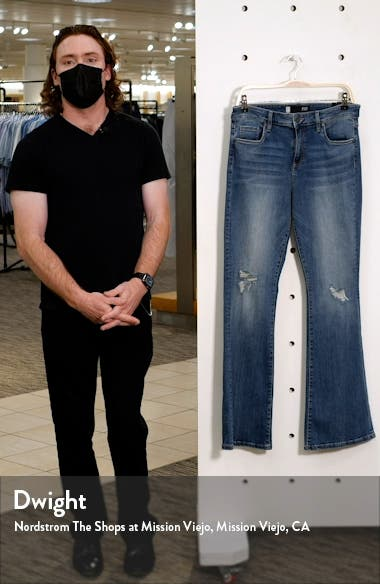 Ana Ripped High Waist Flare Jeans, sales video thumbnail