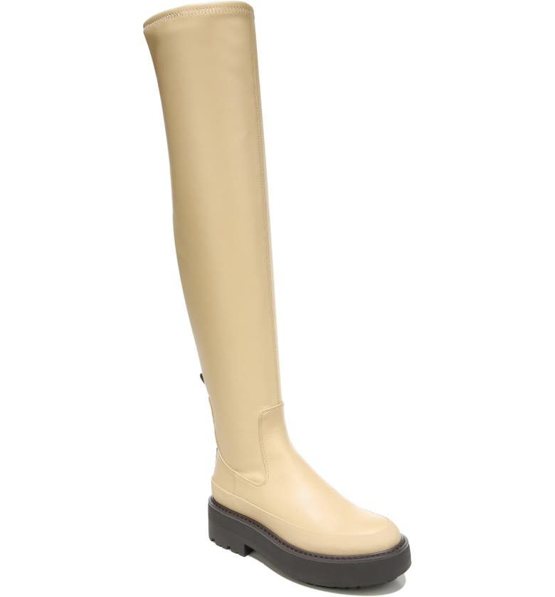 FRANCO SARTO Janna Over the Knee Boot, Main, color, BEIGE