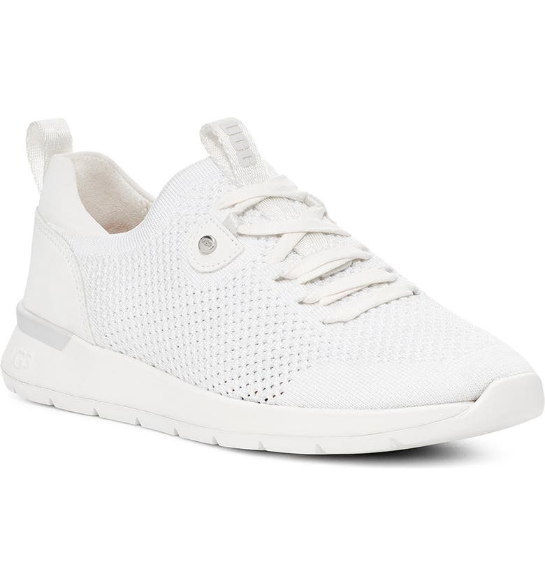 UGG<SUP>®</SUP> Tay Sneaker, Main, color, WHITE