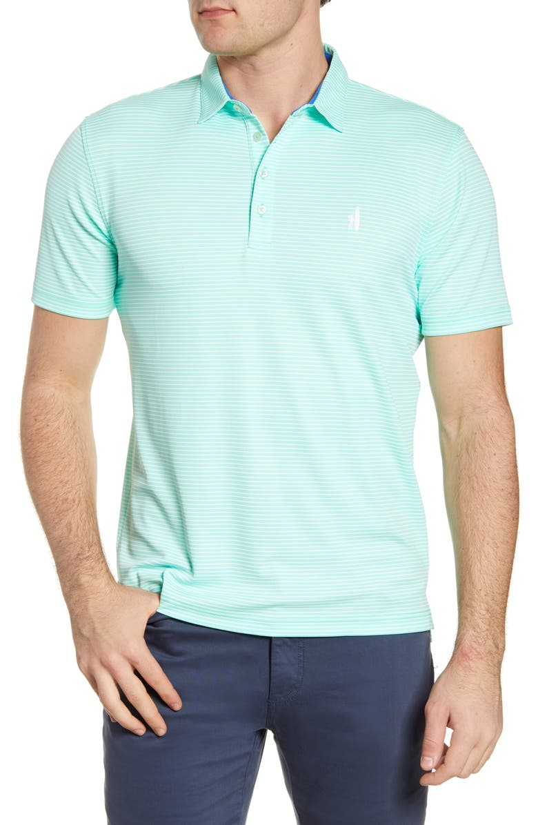 JOHNNIE-O Merrins Hangin' Out Stripe Performance Polo, Main, color, 372