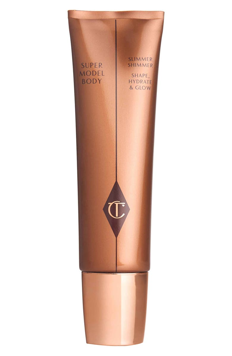 CHARLOTTE TILBURY Supermodel Body Slimmer Shimmer Shape, Hydrate & Glow, Main, color, No Color