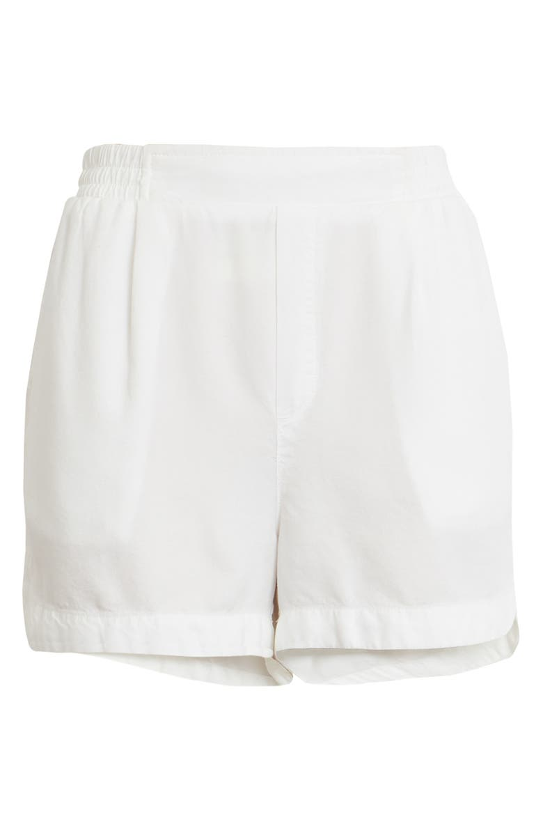 TREASURE & BOND Smocked Waist Shorts, Main, color, 100