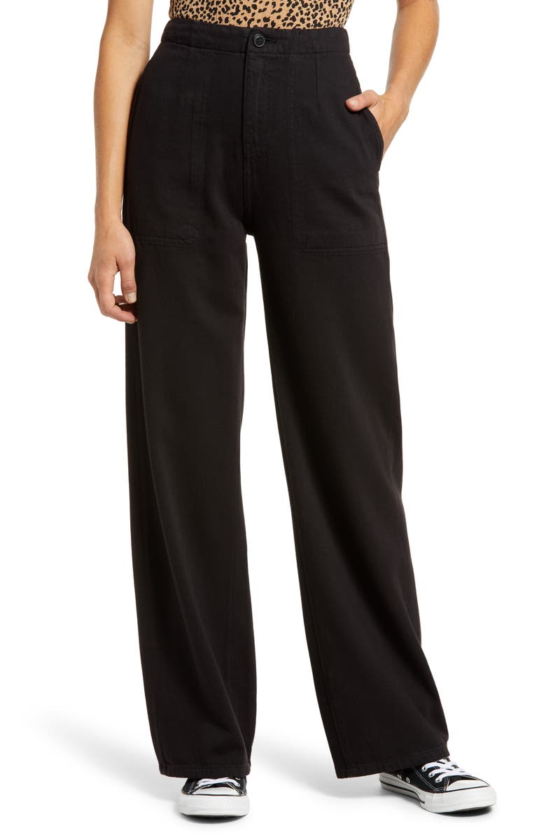 ARTICLES OF SOCIETY Wide Leg Jeans, Main, color, HERRICK