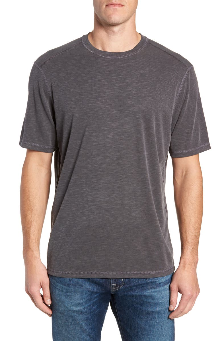 TOMMY BAHAMA Flip Tide Reversible T-Shirt, Main, color, Black