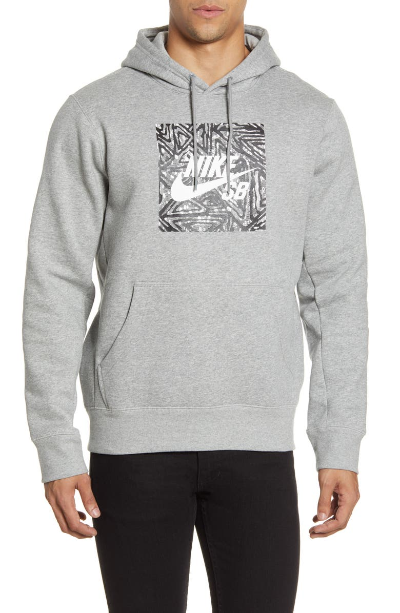 NIKE SB Triangle Graphic Hoodie, Main, color, 063