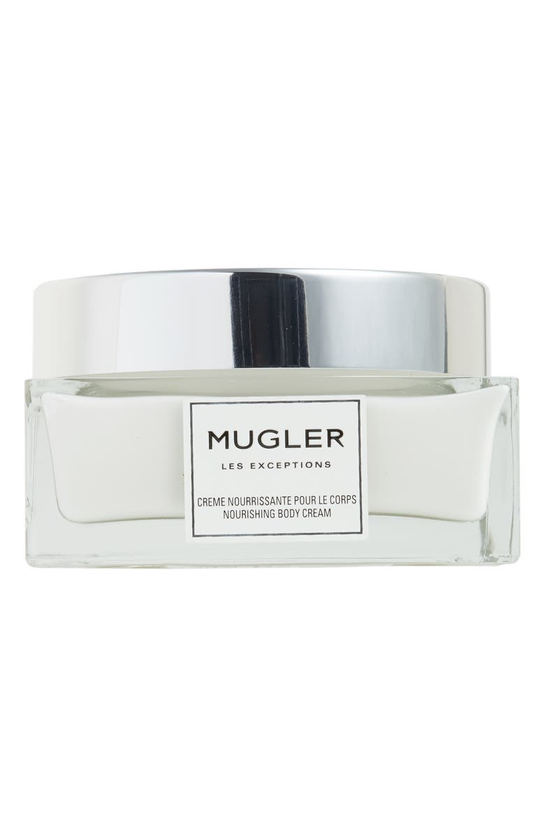 MUGLER Les Exceptions Over the Musk Nourishing Body Cream, Main, color, NO COLOR