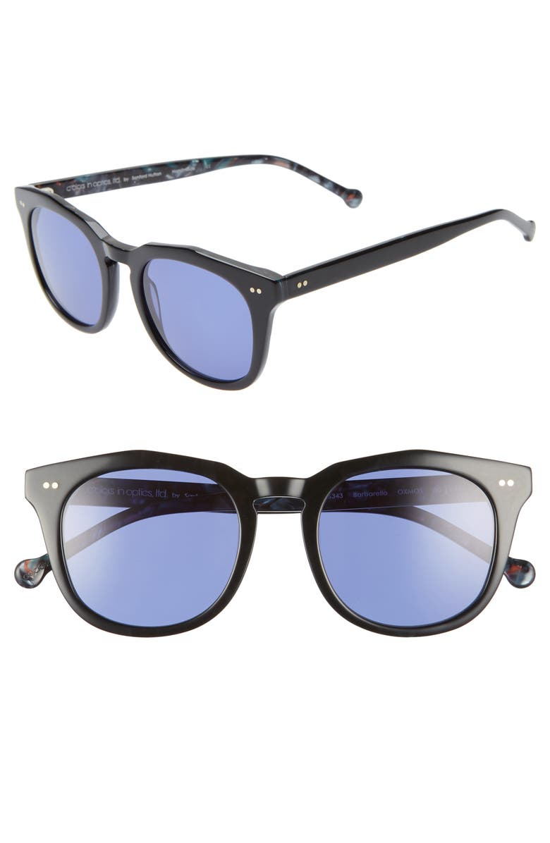 COLORS IN OPTICS Barbarella 50mm Sunglasses, Main, color, 005